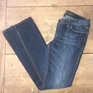 Ted Baker Size 3 (US 8) Boot Cut Jeans